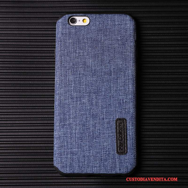 Custodia iPhone 7 Creativo Tutto Incluso Blu, Cover iPhone 7 Silicone Affaritelefono