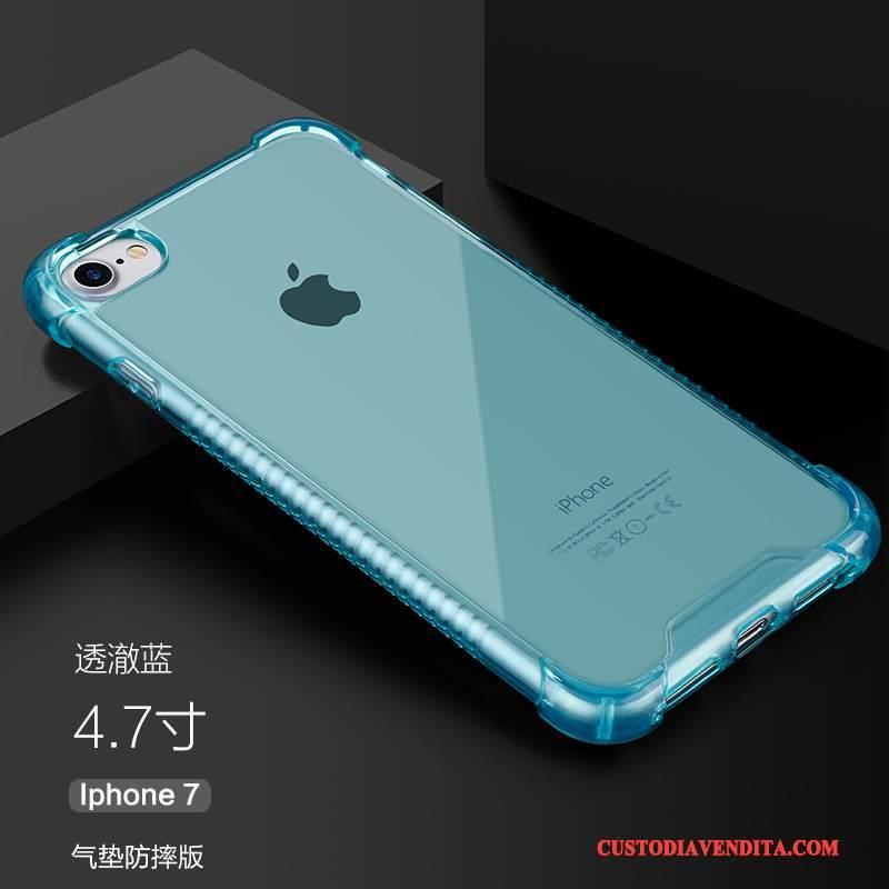 Custodia Iphone 7 Silicone Trasparente Semplici Cover Iphone 7