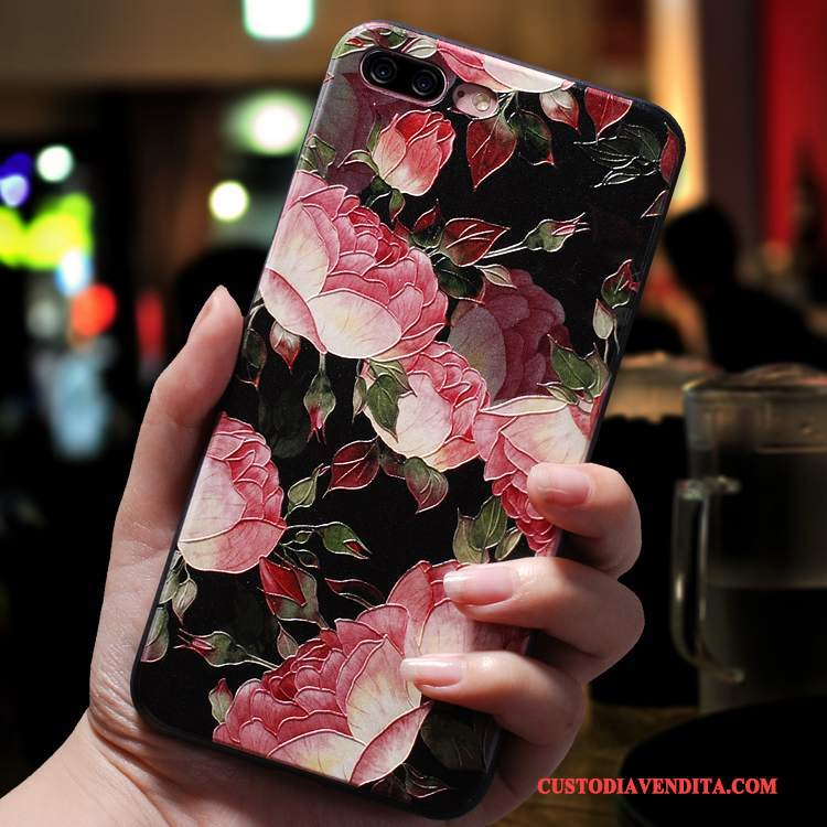 Custodia iPhone 8 Creativo Tutto Incluso Nuovo, Cover iPhone 8 Goffratura Anti-caduta Di Personalità