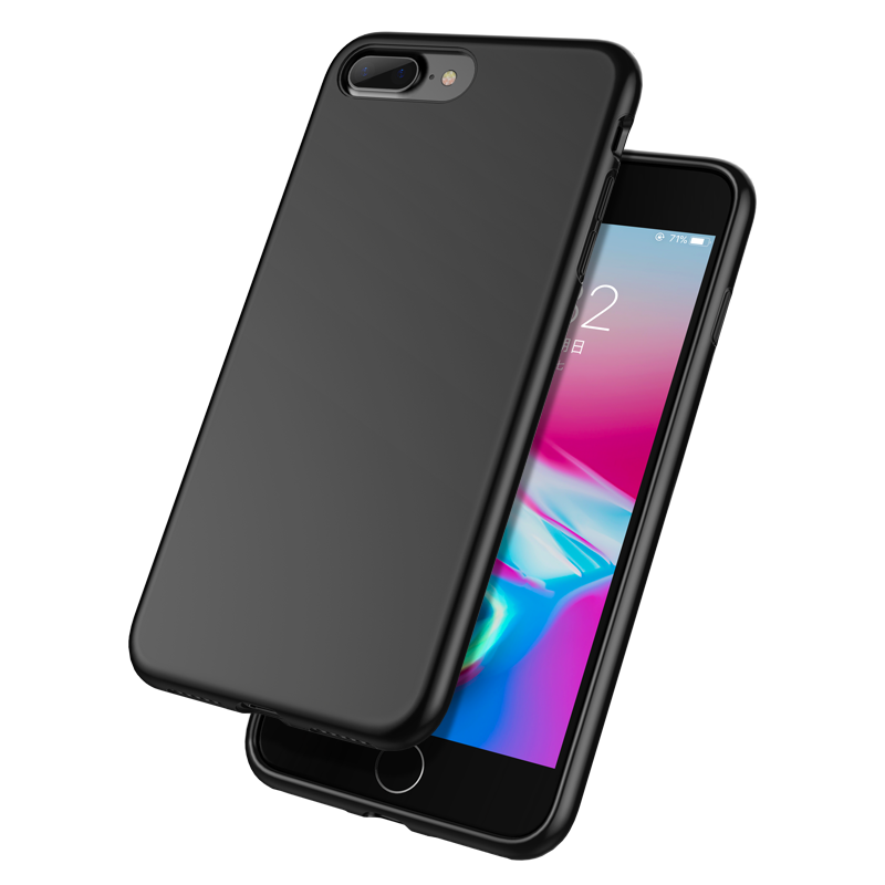 Custodia iPhone 8 Silicone Morbido Nuovo, Cover iPhone 8 Anti-caduta Tutto Incluso
