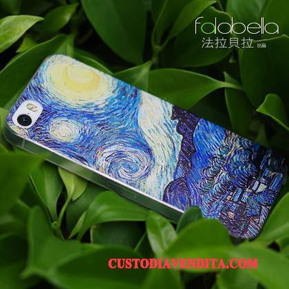 Custodia iPhone Se Silicone Telefono Tendenza, Cover iPhone Se Goffratura Morbido Anti-caduta