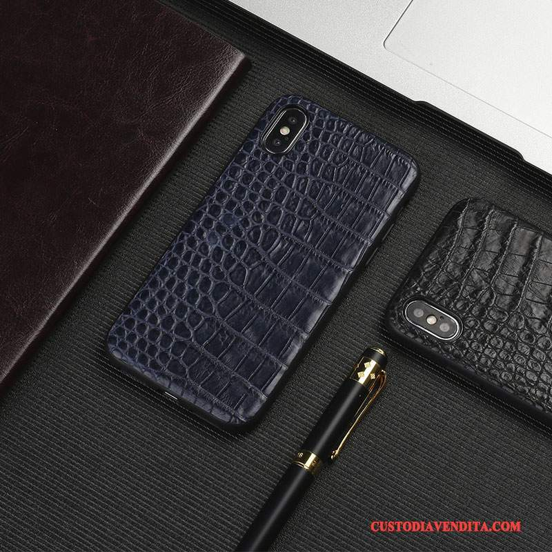 Custodia iPhone X Pelle Elegante Tutto Incluso, Cover iPhone X Telefono Anti-caduta